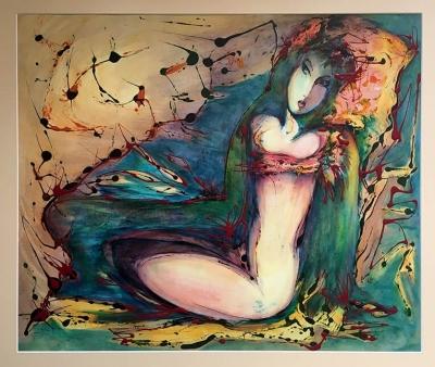 Flowers & Birds, by Mariam Hambaryan