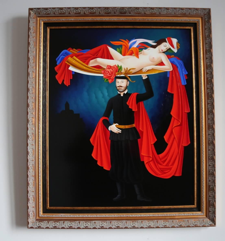 Self portrait, Mayis Mkhitaryan