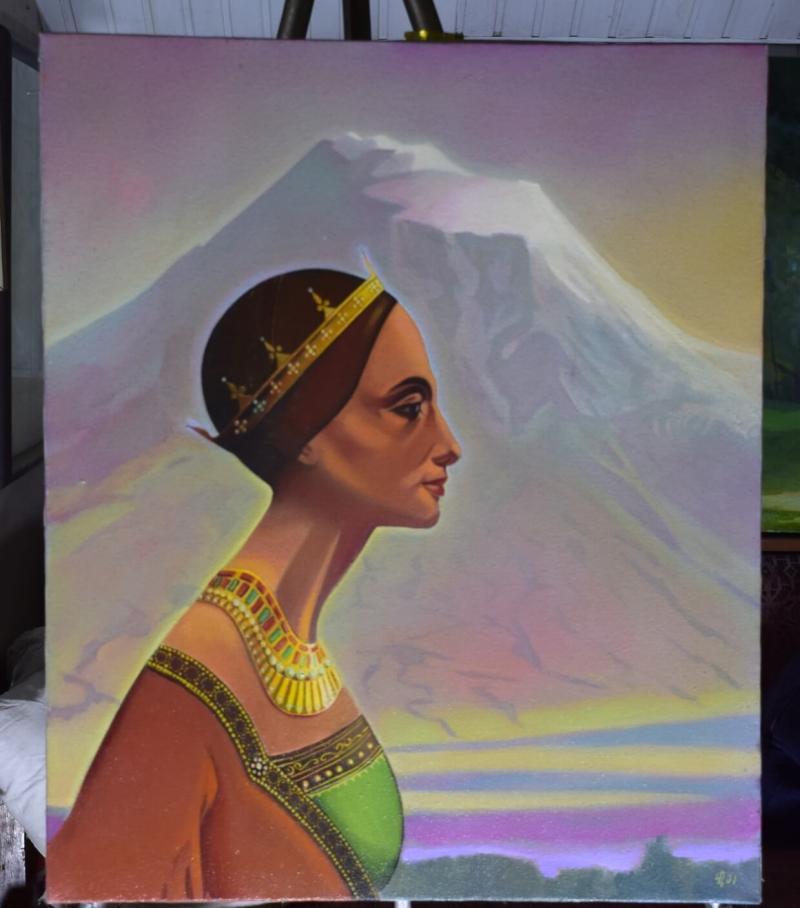 Nvard /Nefertiti/, by Vahan garibyan