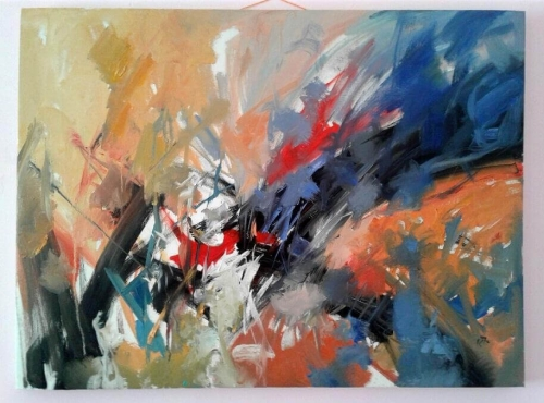Absolute abstraction, by Hovhannes Aghekyan