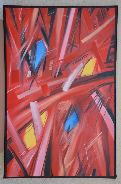 Abstract Stroke Composition, by Hovhannes Aghekyan