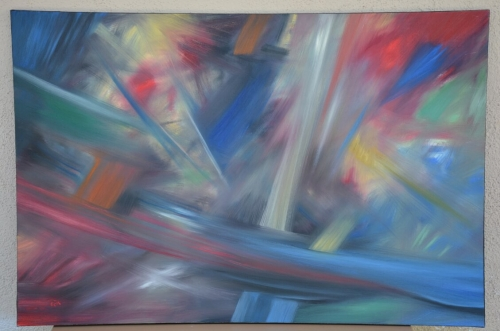 Abstraction in color, by Hovhannes Aghekyan