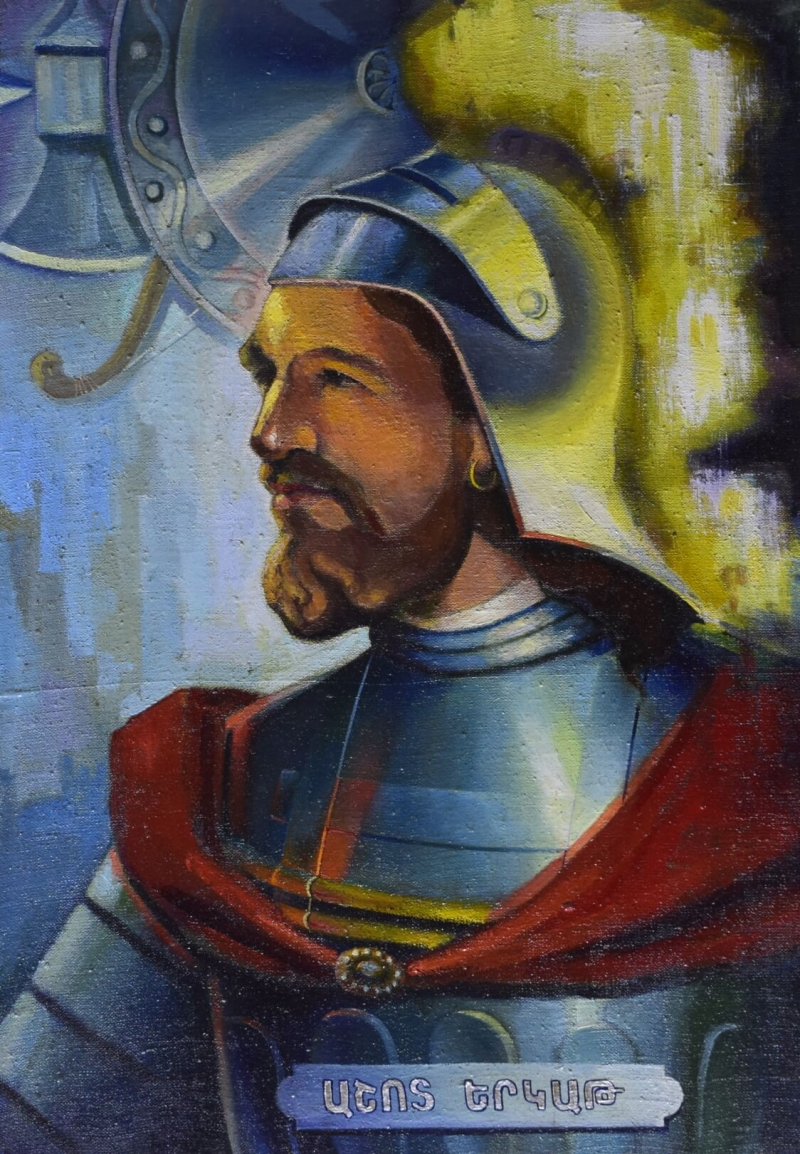 Ashot Yerkat (Iron), by Vahan Garibyan