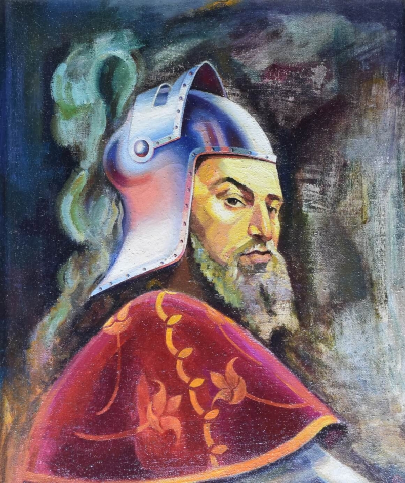 Bat Saharuni, by Vahan Garibyan