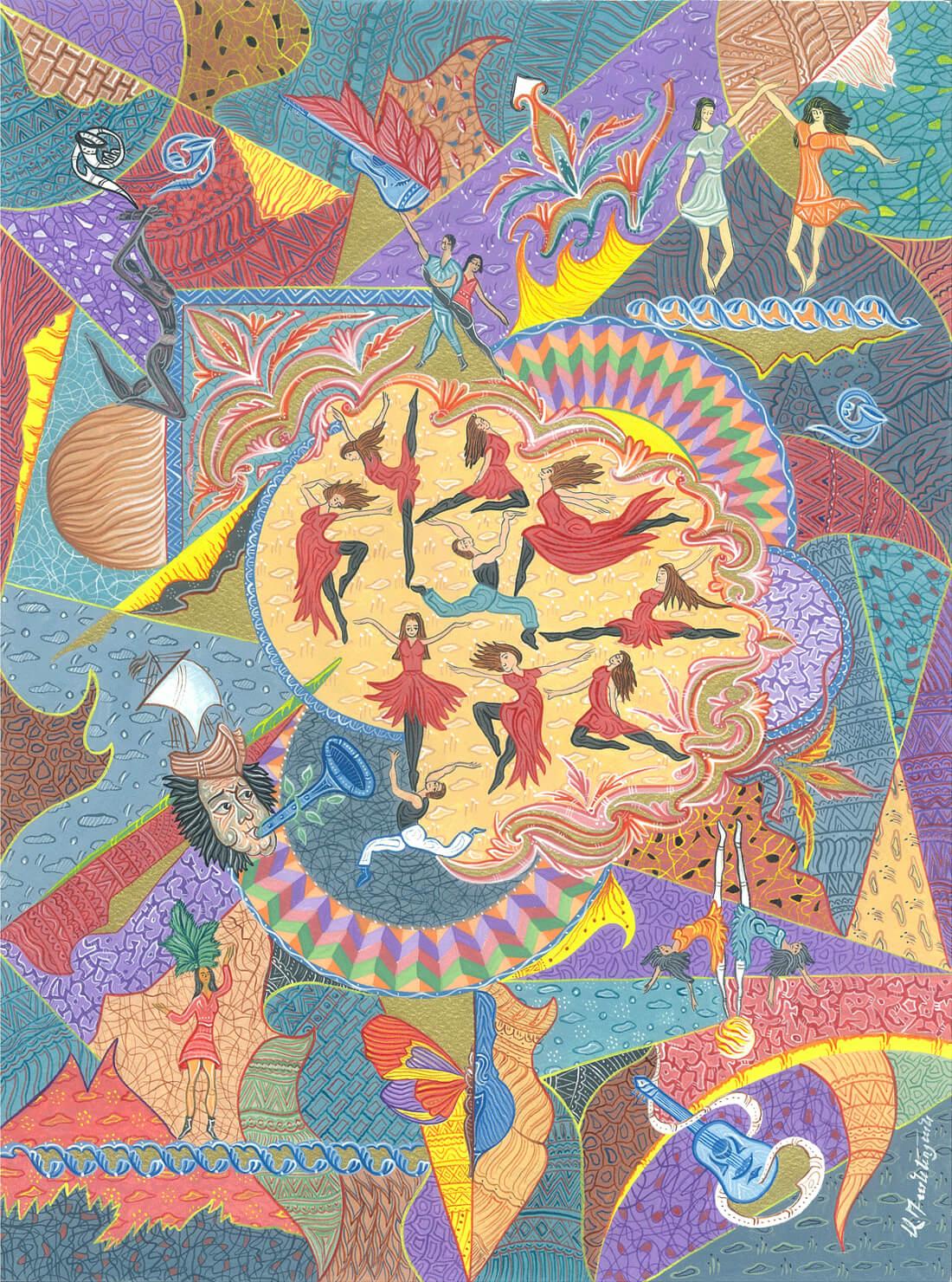 Dance forever, by Armen Daneghyan