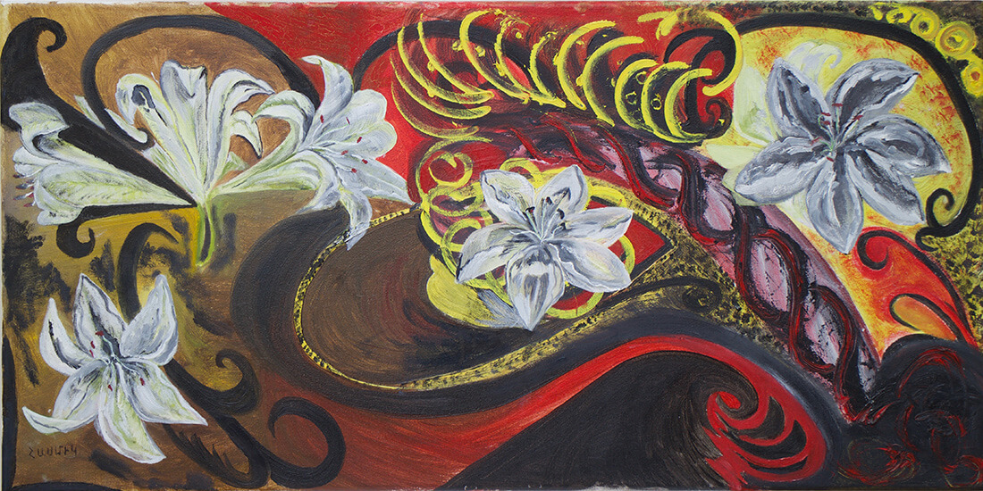 Lilies, by Hasmik Khalafyan