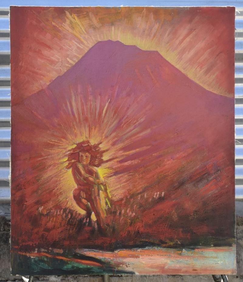 Birth of Vahagn, by Vahan Garibyan