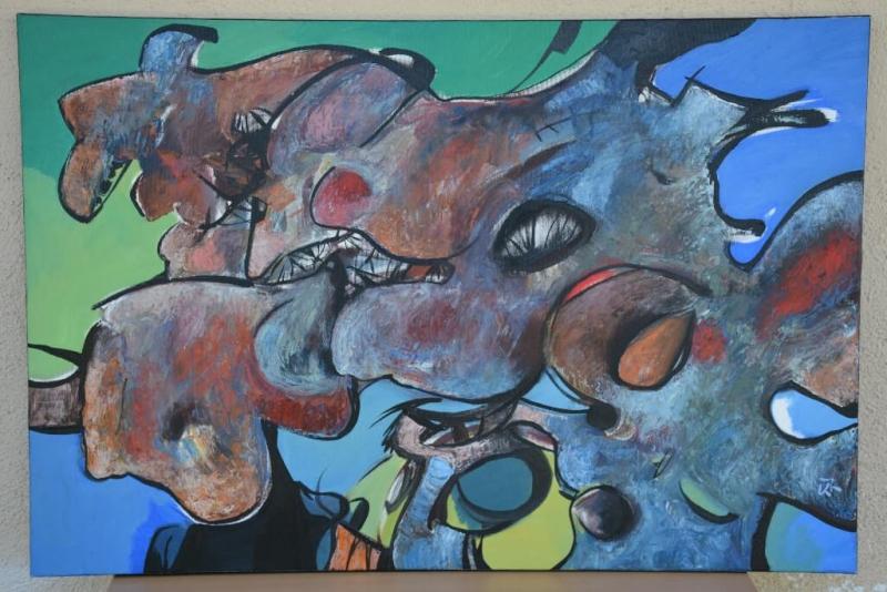 Bullfight, by Hovhannes Aghekyan