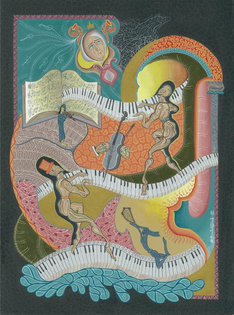 Concert, by Armen Daneghyan