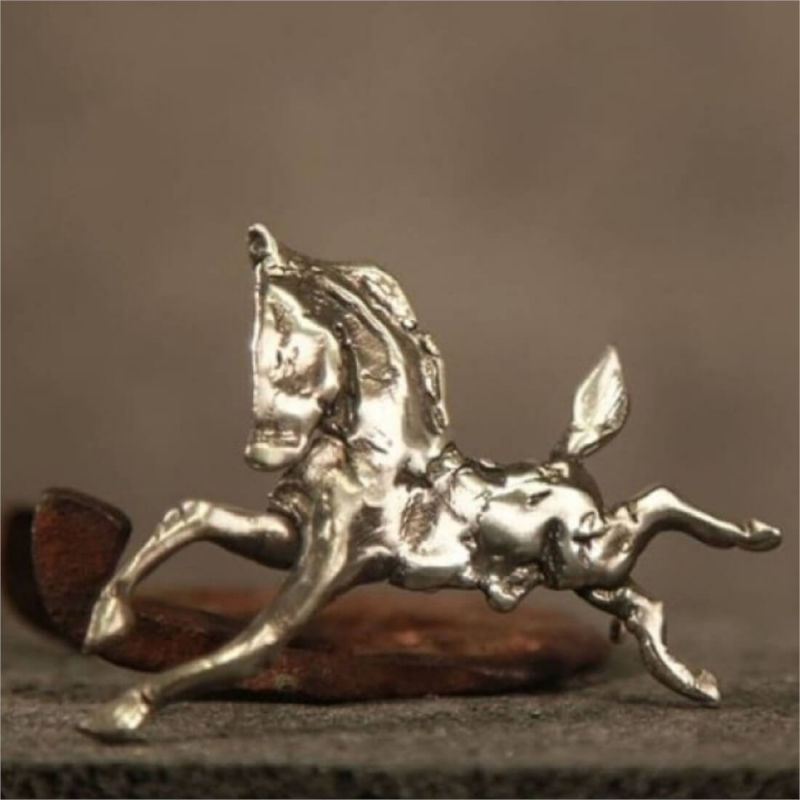 Sculpture in Jewelry - Brooch with Horse, by Hovik Kasapian