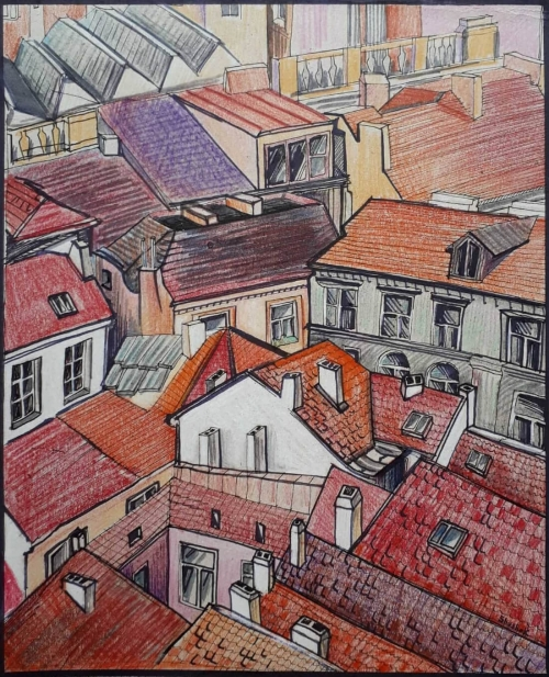Prague, by Shushan Danielyan