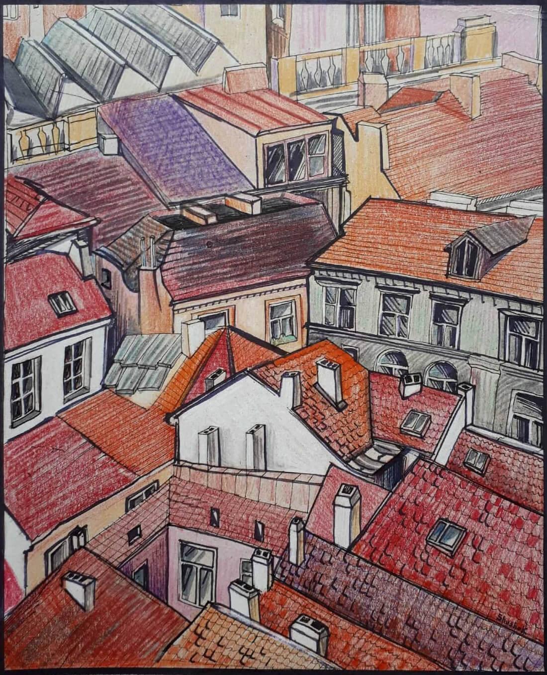 Prague, by Shushan Danielyan