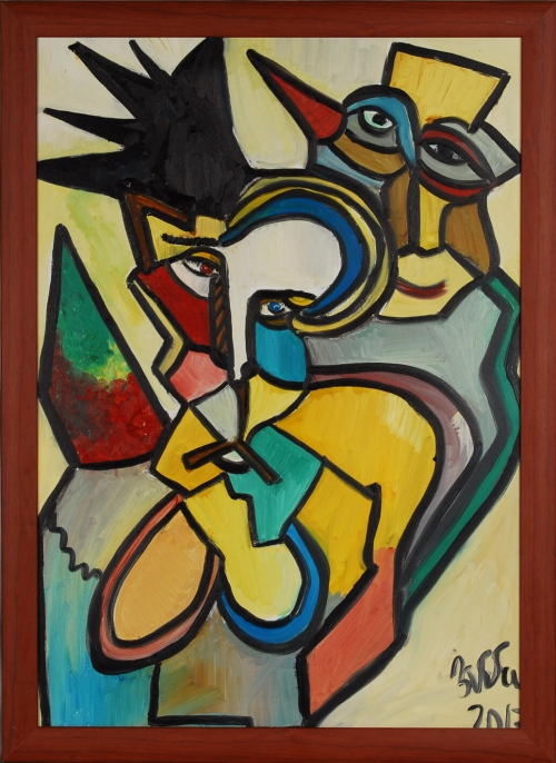 Tribute to Picasso, by Emma Tumanyan
