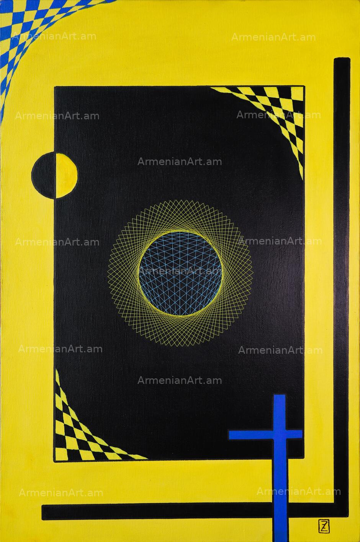 Blue Cross, by Zakar Zohrabyan
