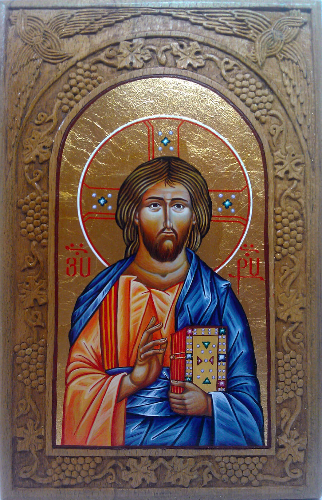 Christ Pantocrator, by Marianna Hovhannisyan
