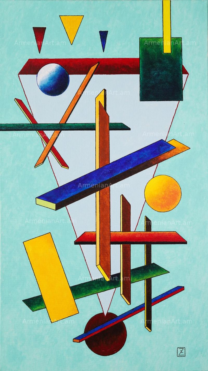 Cosmic Construction, by Zakar Zohrabyan