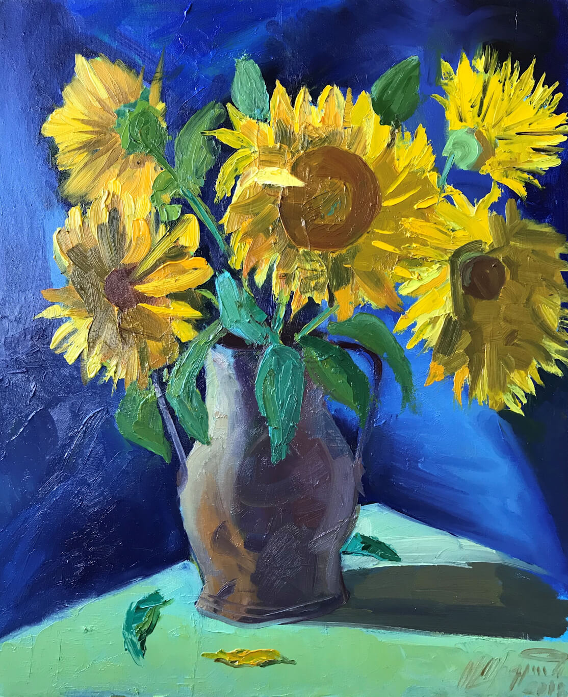 Sunflowers, by Tigran Sargsyan