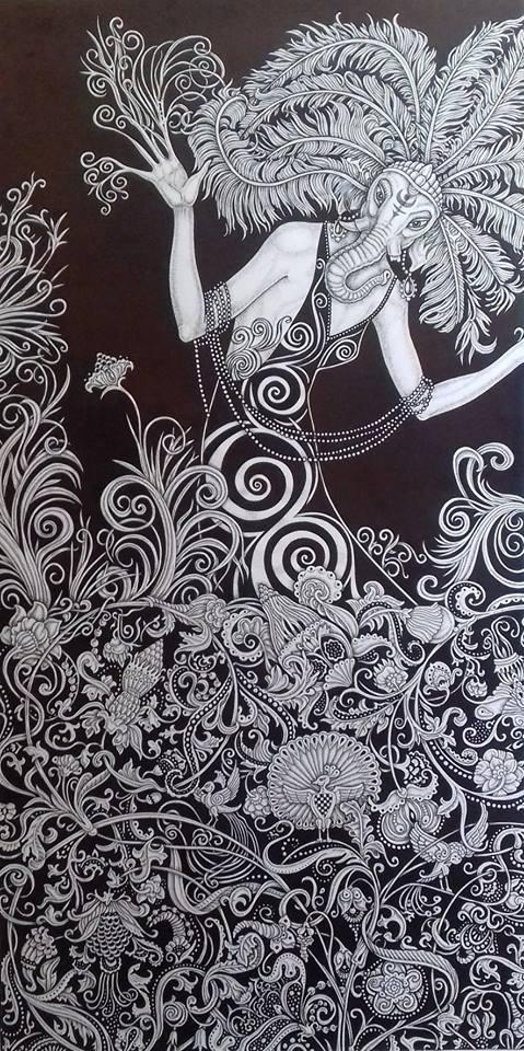 Ganesh, by Dmitriy Mkrtchyan
