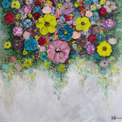 Floral Painting, by Arusyak Hovakimyan