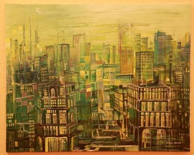 Green City, by Knkush Yesoyan