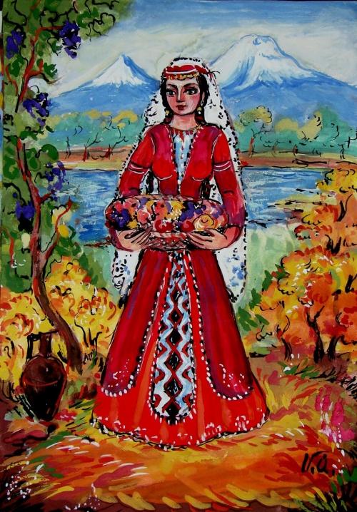 Harvesting, by Artur Meliqyan