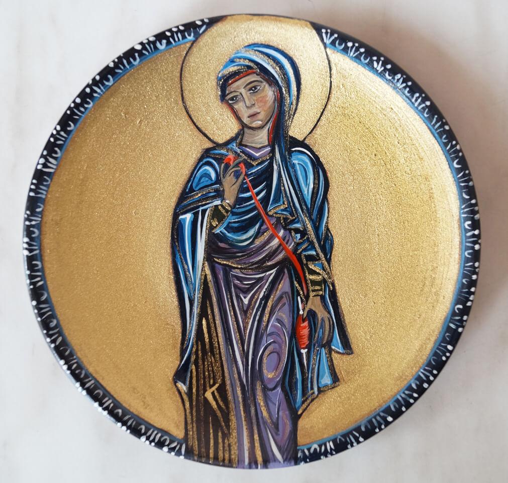 Annunciation, by Mariam Badalyan