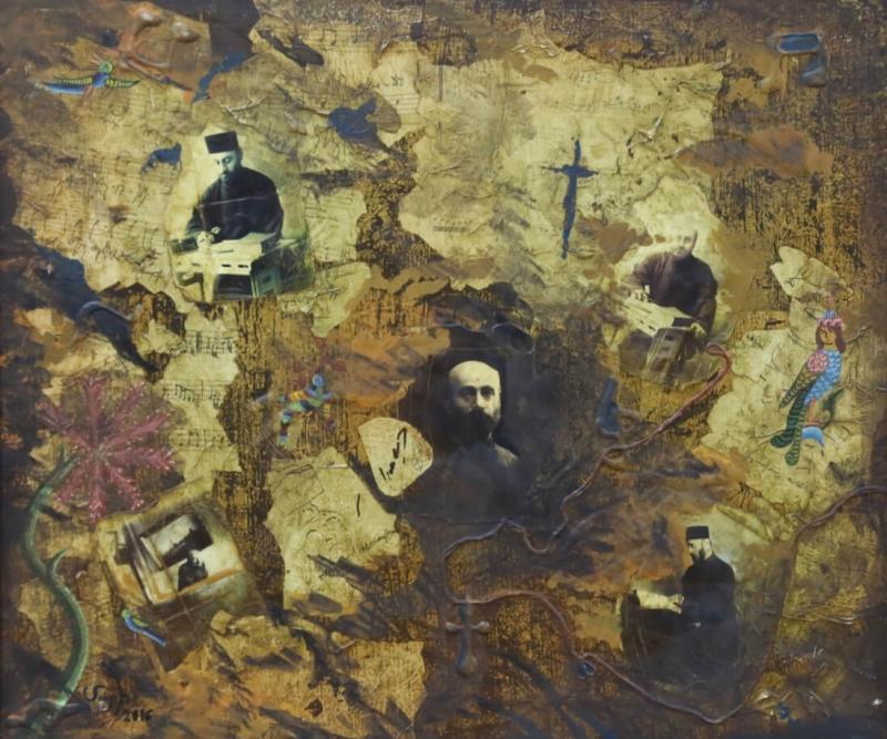 Komitas's Spirit, by Mariam Harutyunyan