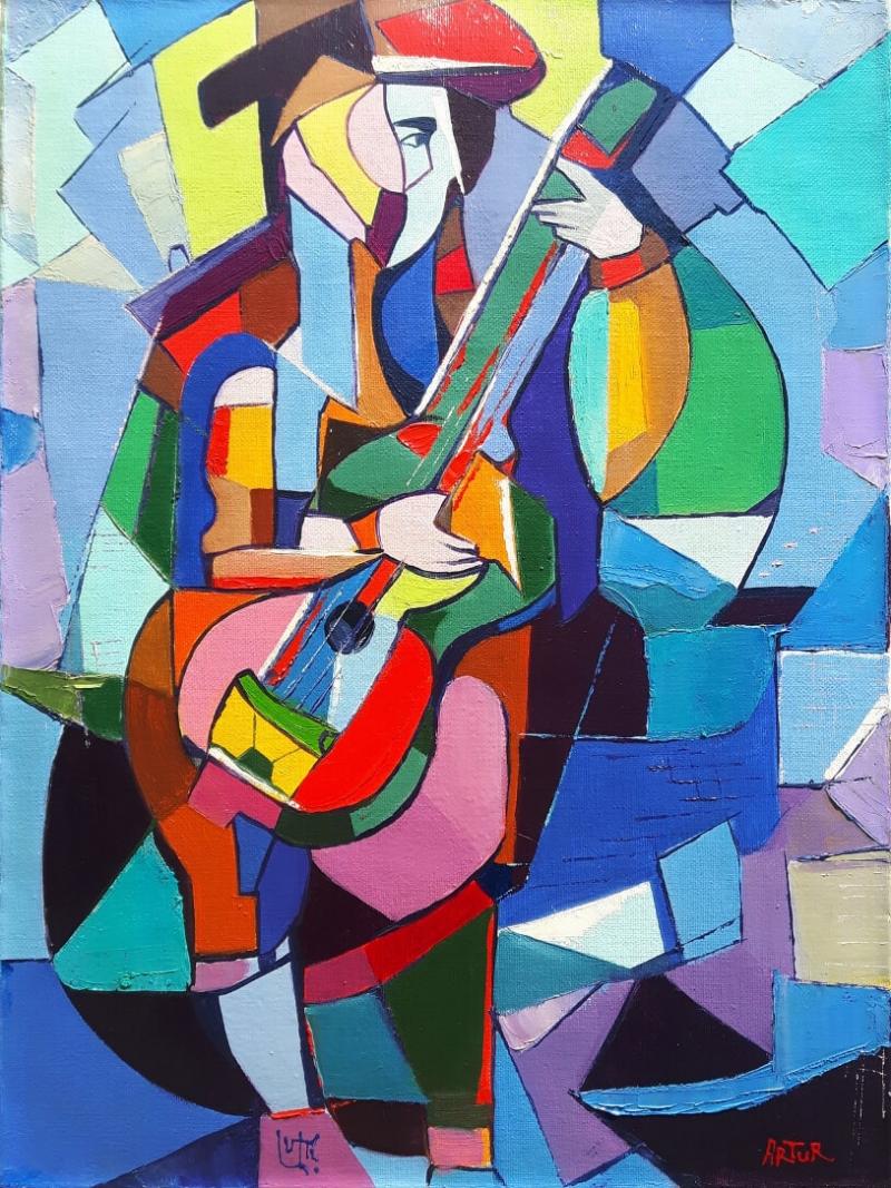 A musician, by Artur Pashikyan