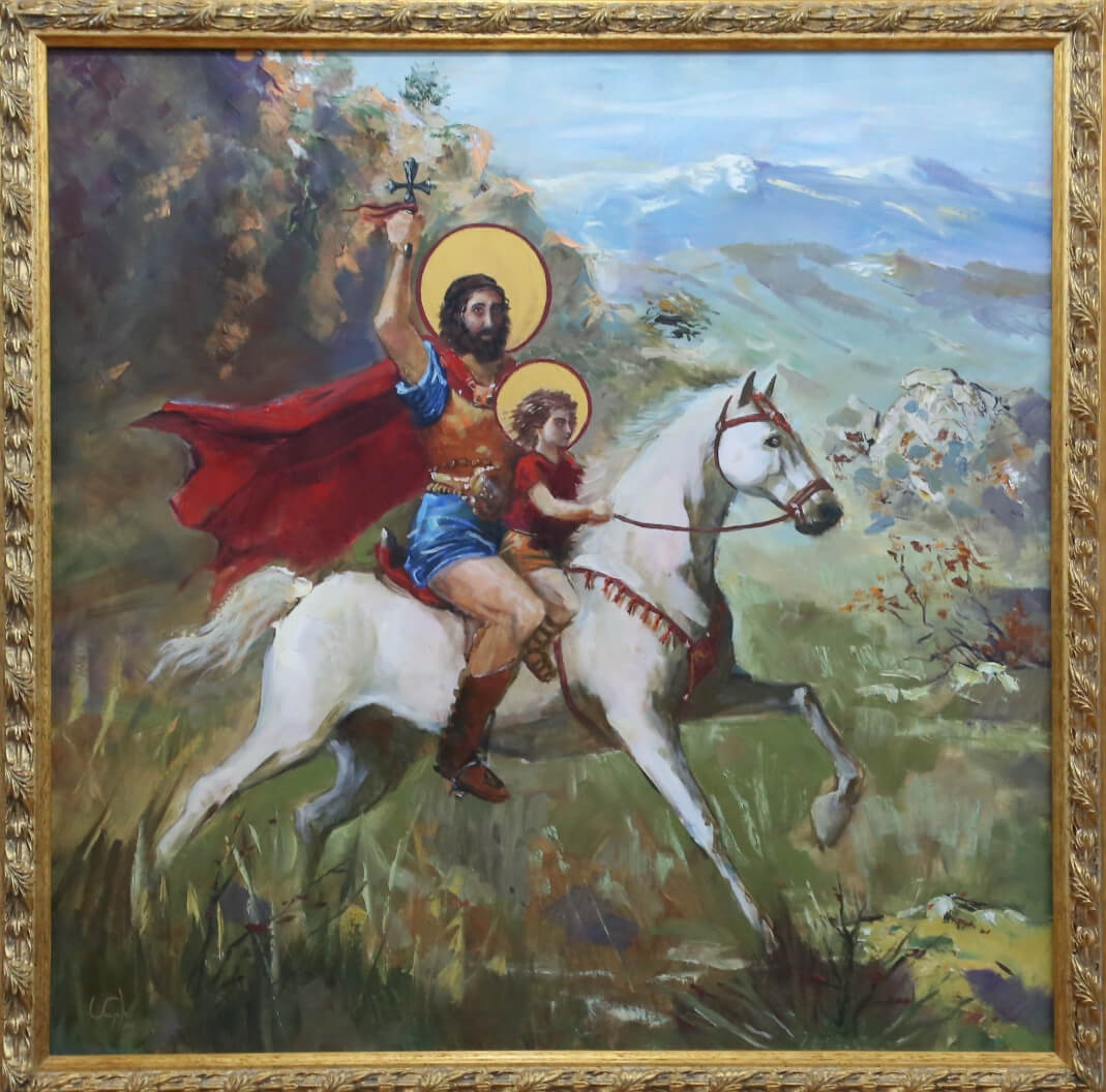 Saint Sarkis the Warrior, by Mariam Harutyunyan