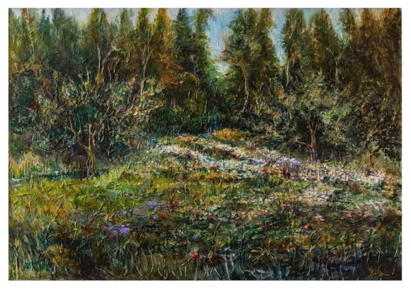 Blooming Garden, by KARUZ (Karen Uzunyan)