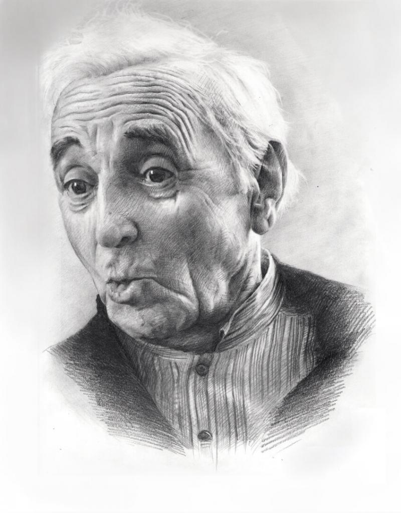 Aznavour, by Sasun Ghazaryan
