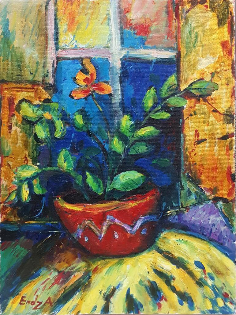 Flowers, by Endza (Gevorg Babakhanyan)