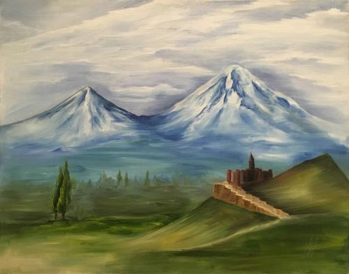 Ararat, Khor Virap, by Milena Badalyan