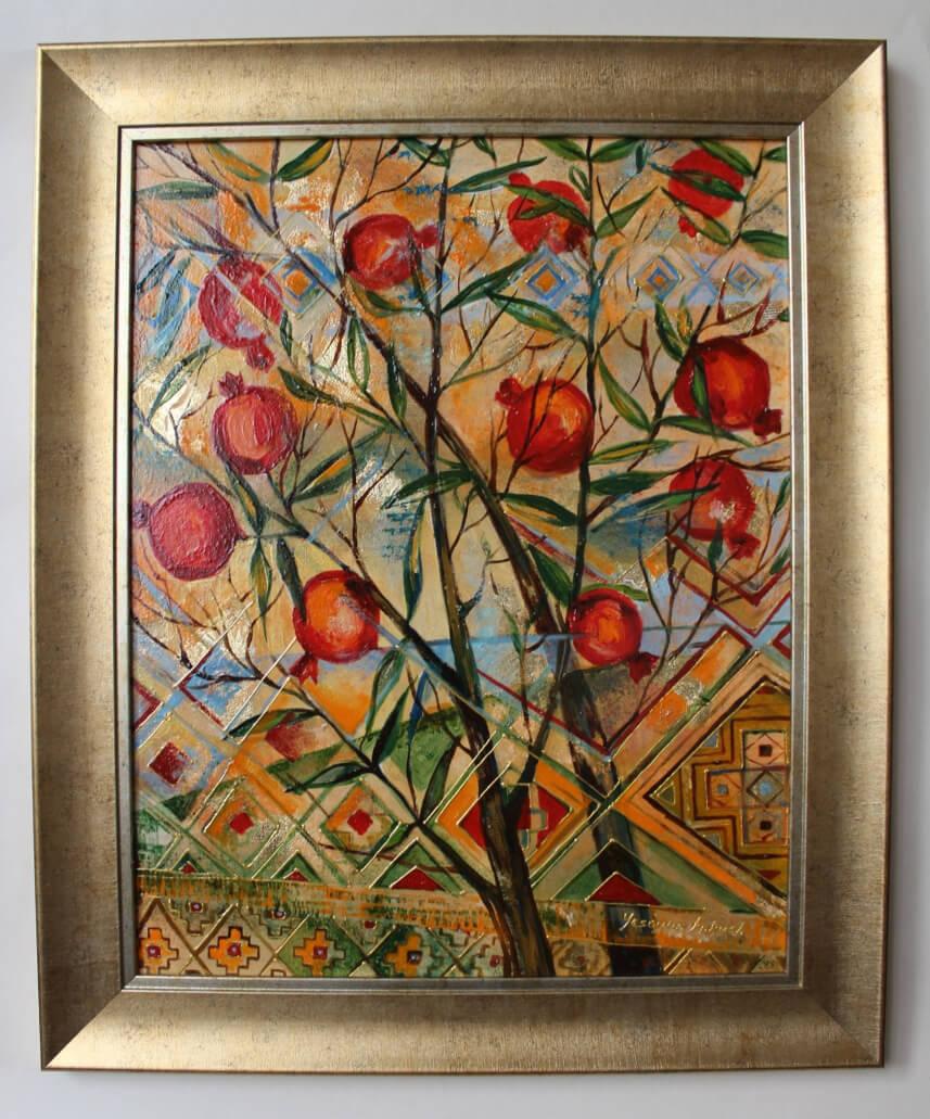 Pomegranate Tree, by Knkush Yesoyan
