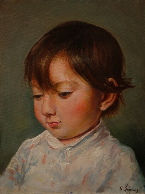 Portrait - Emma, by Artur Mkhitaryan