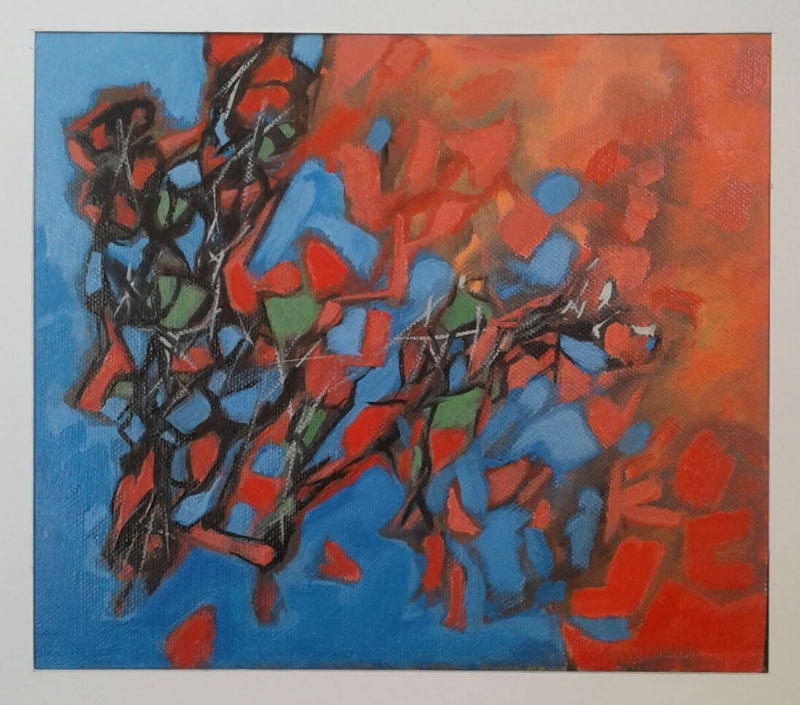 Abstract Reflections 3, by Hovhannes Aghekyan