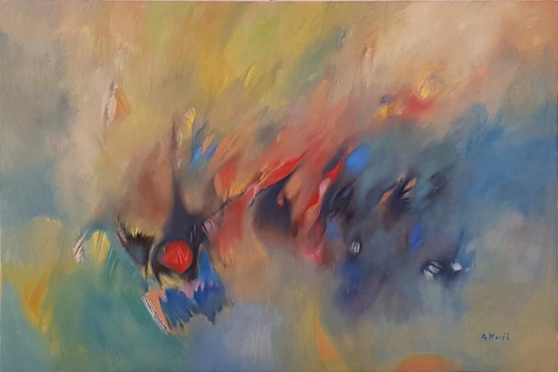 Fourth dimension, by Hovhannes Aghekyan