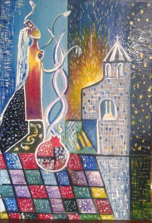 «Մայր Հայաստան», հեղինակ՝ Հարություն Նասիլյան