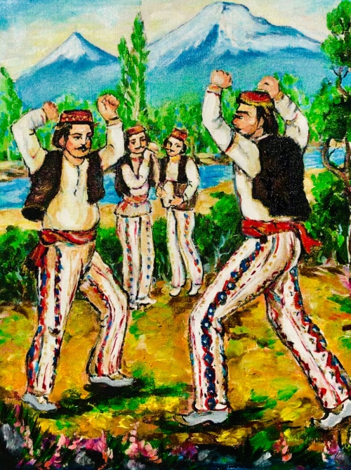 Armenian National Dance Yarkhushta, by Artur Meliqyan