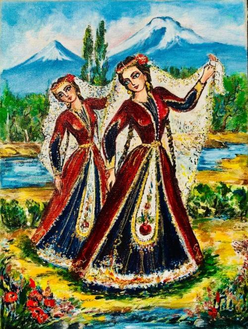 «Պարուհիներ», հեղինակ՝ Արթուր Մելիքյան
