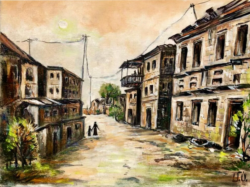 Old Yerevan, by Artur Meliqyan