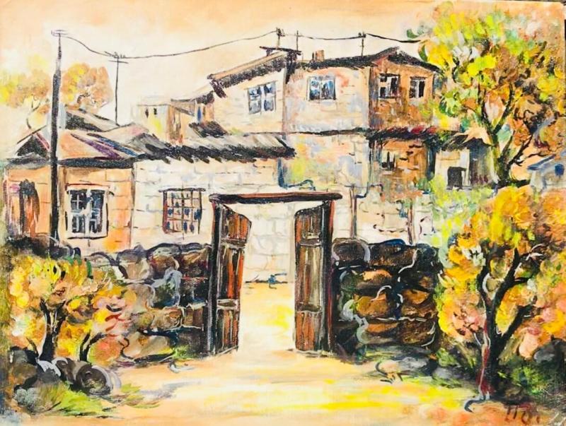 Old Yerevan, by Artur Meliqyan