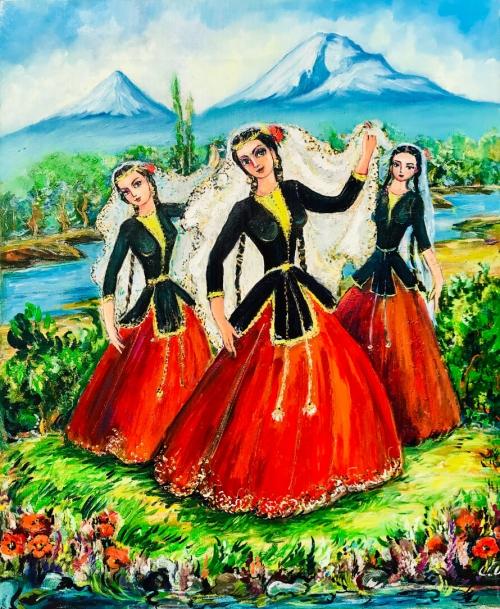 «Կակաչների պար», հեղինակ՝ Արթուր Մելիքյան