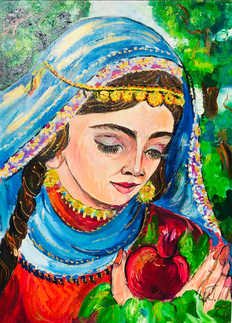 An Armenian Woman, by Artur Meliqyan