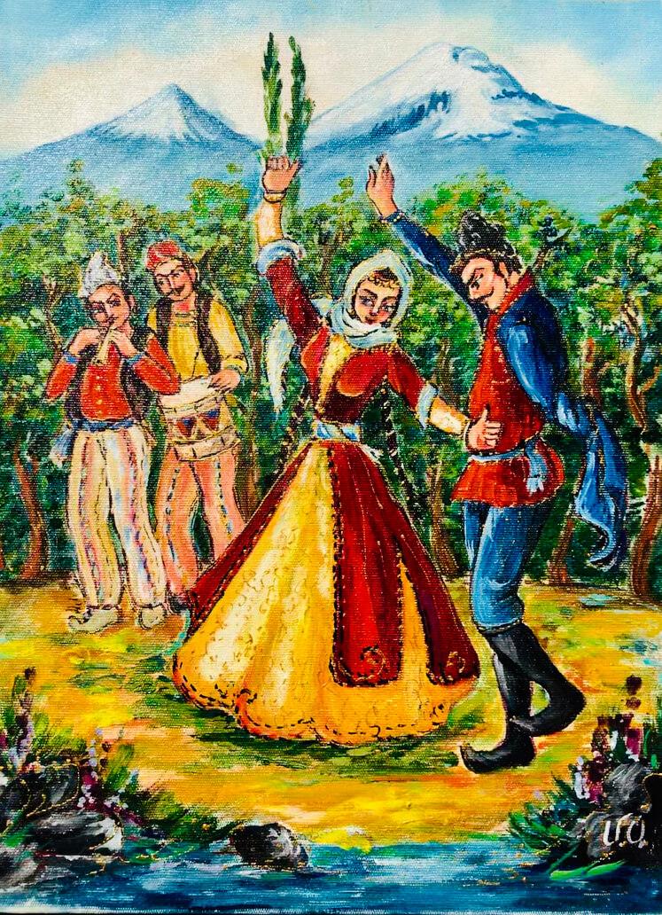 «Ղարաբաղի պար», հեղինակ՝ Արթուր Մելիքյան