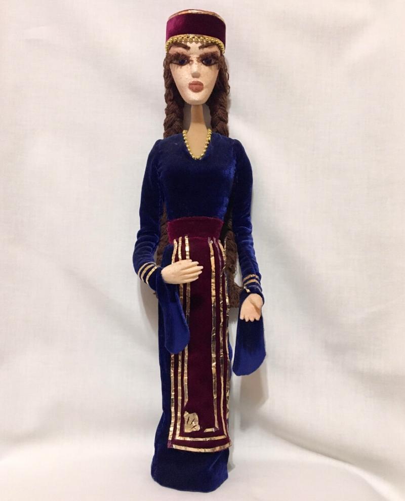 Armenian National Puppet / Doll, by Marina Hovasapyan