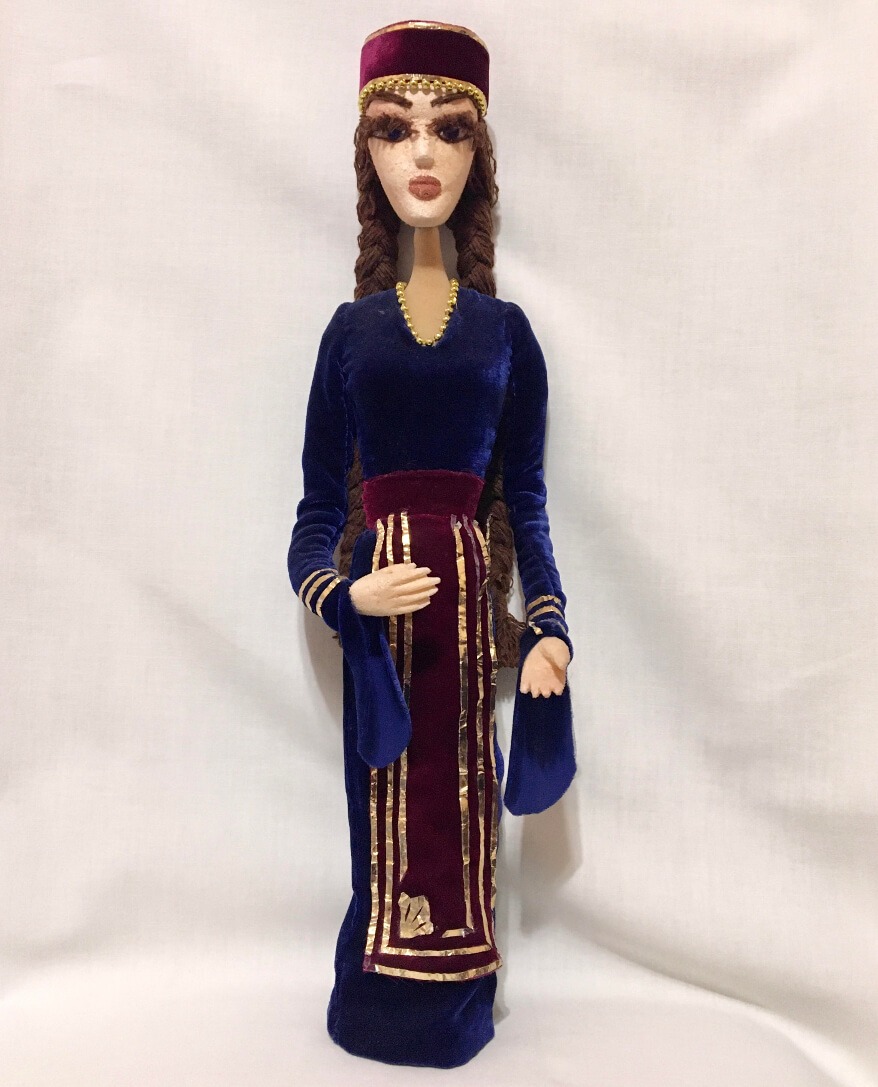 Armenian National Puppet / Doll, by Marina Hovasapyan