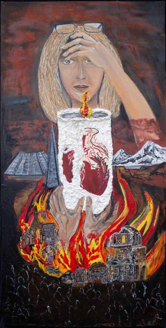 Beating of My Heart, by Hasmik Khalafyan