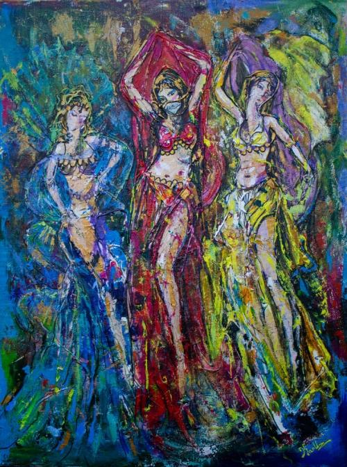 «Պարուհիներ», հեղինակ՝ ԿԱՐՈՒԶ (Կարեն Ուզունյան)