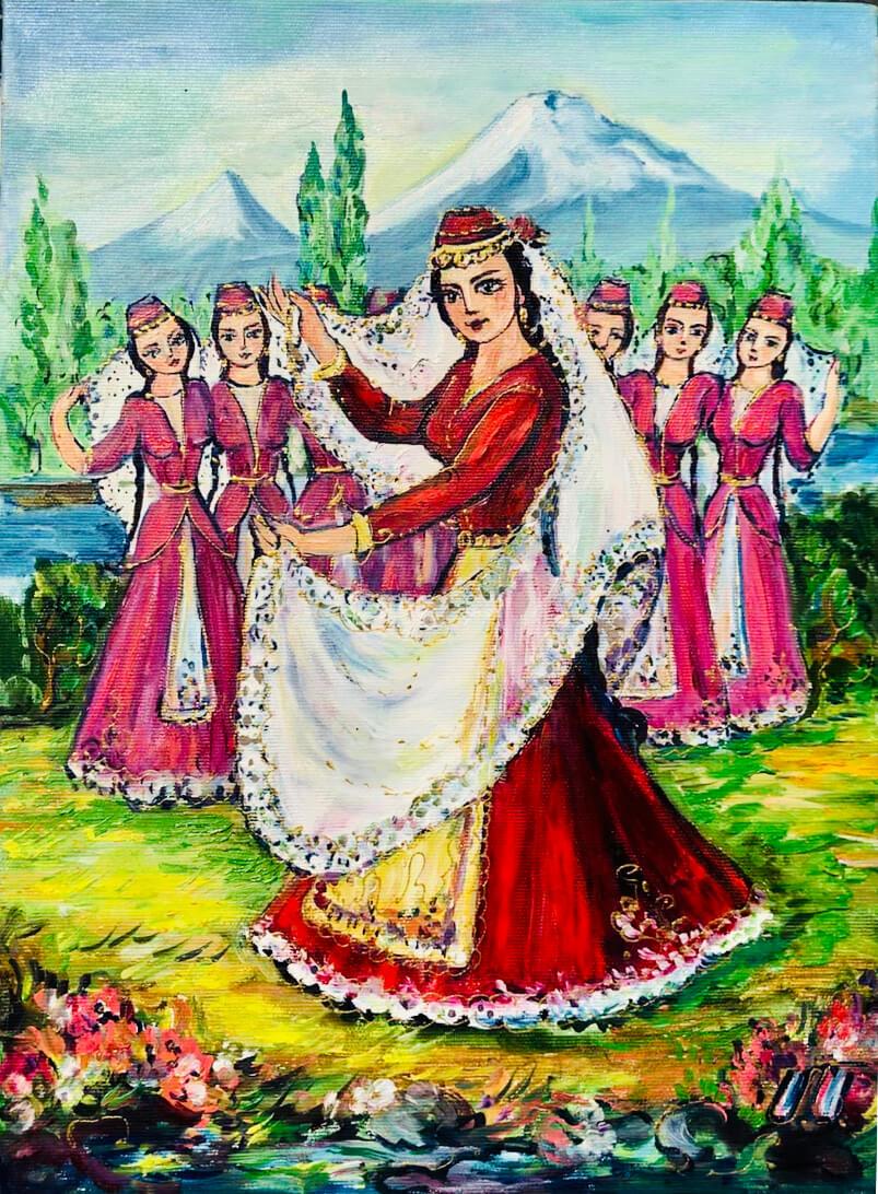 Female Dancers, by Artur Meliqyan